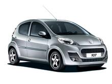 Peugeot 107 til 495 kr. i mdr.