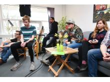 Unge til åbning af headspace Aabenraa i 2017