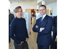 Kevin Forss och Prins Daniel