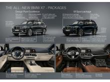 Ensimmäinen BMW X7_paketit