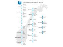 4G-utbygging i august