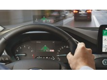 Head-up display i Ford Focus
