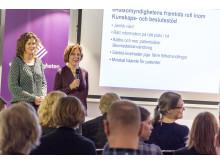 Frukostmöte om EES med apotekarna Maria Wanrud och Bodil Lidström, eHälsomyndigheten