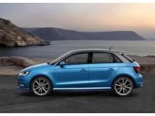 A1 Sportback er Audis mindste bil, der med sin store personlighed er den perfekte bybil og rejsekammerat