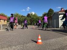 Cykelskola med Rosengård fastigheter