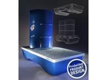 Miljöpall med prisbelönt produktdesign