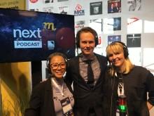 Programledarna Simone Westerberg (COO GroupM), Martin Hugosson (CFO GroupM) och Clara Grelsson (CFO Mindshare).