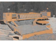 Byggekunst. Moestue & Schistad, Ingierstrand bad, 1933–34