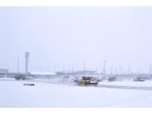Brøyting ved Oslo Lufthavn