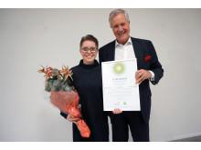 Lina Wilckens och Michael Treschow, Michael Treschow-stipendiet 2017