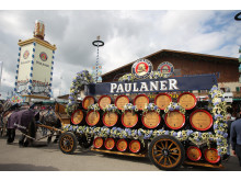 Wiesn 2014 - Brauereigespann