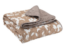 Quilted blanket NEJLIKA 140x200 patckwork rose (199 DKK)