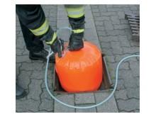 Brunnstätning med tryckluft