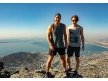 Martin Karlgren och Marcus Berglund i Sydafrika