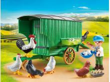 Mobiles Hühnerhaus von PLAYMOBIL (70138)