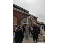 Official opening of Kenilworth station