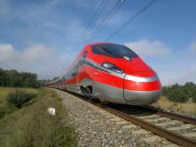 ZEFIRO höghastighetståg i Italien inför trafikstart