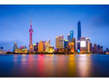 Shanghai får nu direktflyg från Stockholm Arlanda Airport. Foto Shutterstock.