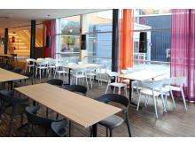 Visp - restaurangen i Videum Science Park