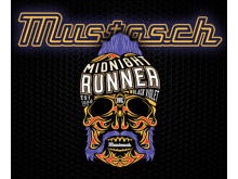 Mustasch Midnight Runner Black Violet