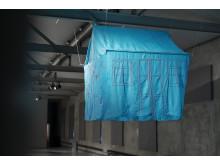 Installation view/Installationsbild The Long Way Home, Yasmin Jahan Nupur Delta & Sediment Färgfabriken 2019