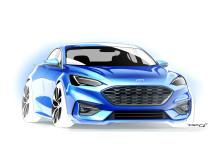 Nye Ford Focus 2018 skisser