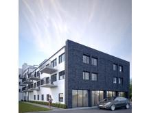 Centrumbyggnad Bulltofta friluftsstad i Malmö