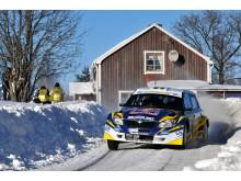 Patrik Sandells först seger i Svenska Rallyt