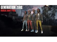 Generation Zero - Pre-order Exclusive Radical Vanity Pack