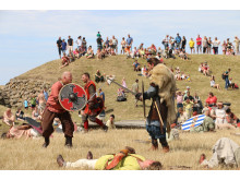 Årets vikingefestival på Trelleborg blev en stor succes