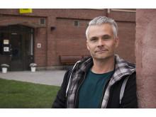 Mats Årstrand, lärare på Estet-Media-utbildningen på Realgymnasiet