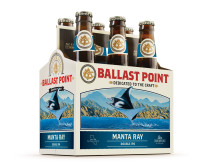 Ballast Point Manta Ray DIPA - 6-pk, web