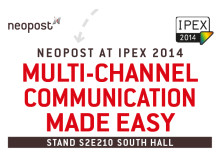 Neopost To Exhibit at IPEX 2014