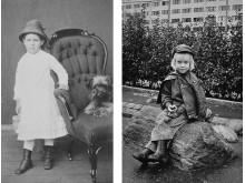 Bild höger: Björn 6 år i Hammarkullen
