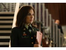 Dr. Nancy Jaax i uniform