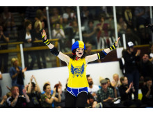Stockholm Roller Derby - Rink of Fire