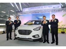 Hyundai firar första serieproducerade bränslecellsbilen