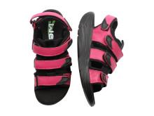 WEB sandal med rullsula