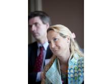 Cecilia Widegren (M) vill satsa på barn och unga inom hästnäringen