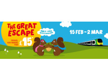 The Great Escape - Travel Anywhere for Just £15