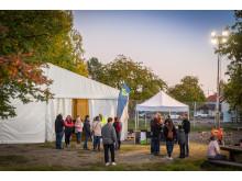 Byggplatsvisning - BoKlok Hasseln, Falun