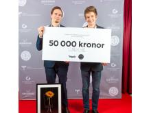 LunchCube, vinnare 1:a pris Av och med unga The Brewhouse Award 2015