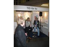 Bokmässan: Åse Rinman intervjuas av Tommy Ringart om hur en cancersjukdom förändrar synen på TIDEN.