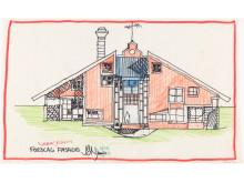 Byggekunst. Jan & Jon, Normanns hus, antatt 1979