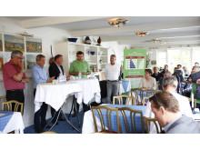 Paneldebatten i Klostergården