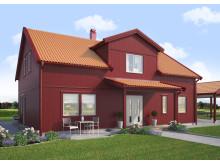 Villa Björkö, modern - framsida