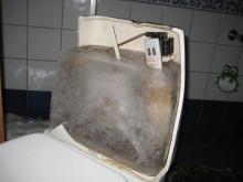 Frostskade toalett