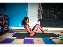 Online yoga at home!