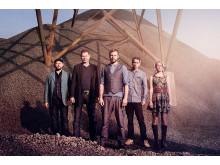 Bluegrassbandet Dunderhead spelar lördagen den 15 september på Kungsbacka torg