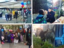 Bilder fra Kunst og nabolagsfesten